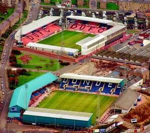 Dundee's Dens Park and Tannadice Park